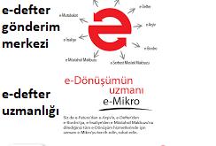 mikro e-defter uygulaması-Mikro e-defter gönderme-mikro e-defter