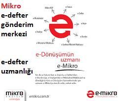 mikro e-defter uygulaması