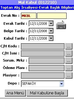 mikro el terminali