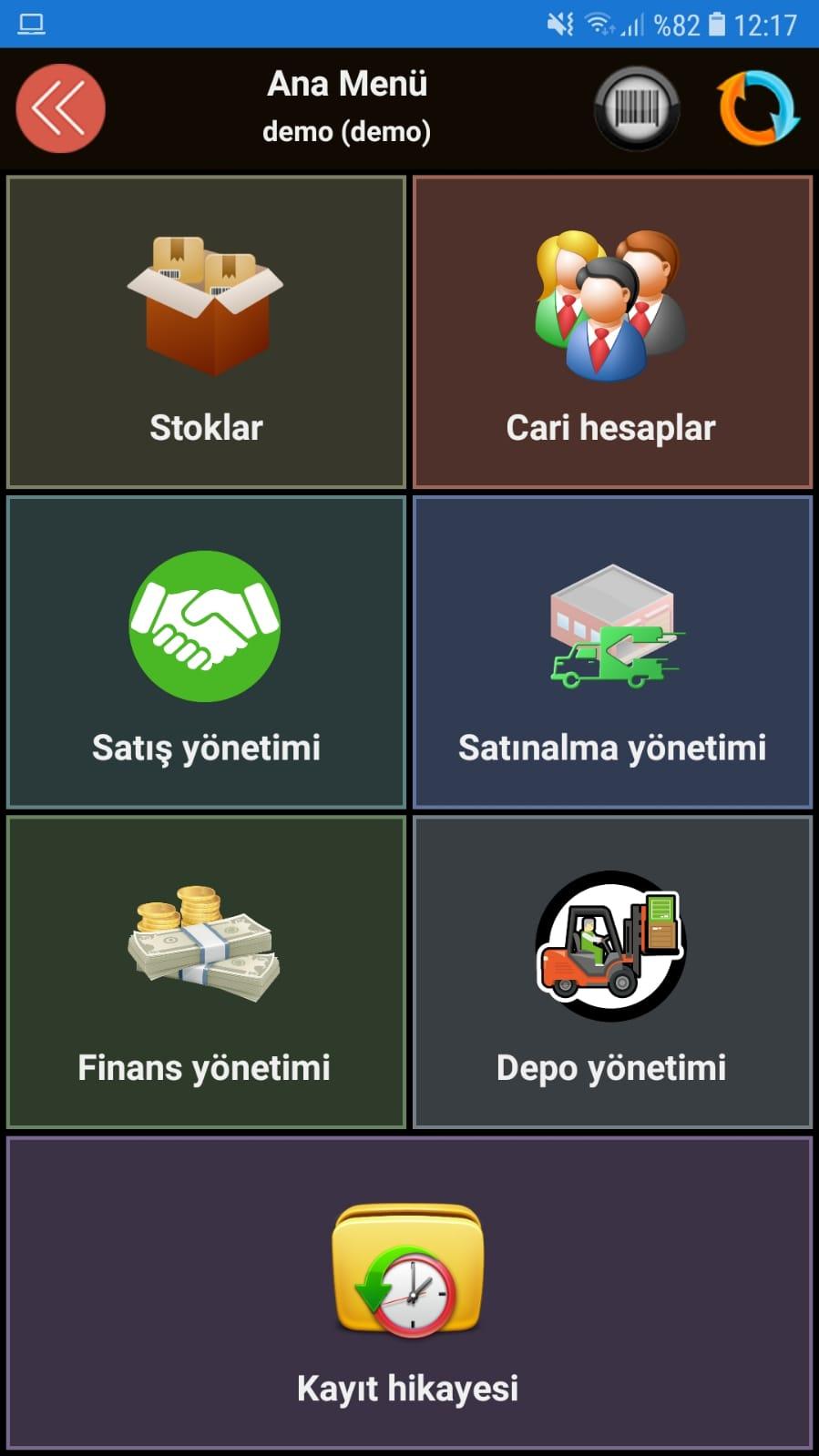 mikro android uygulaması